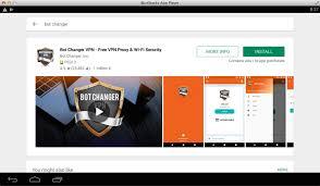 bot changer vpn screen short in www.techfizzi.com