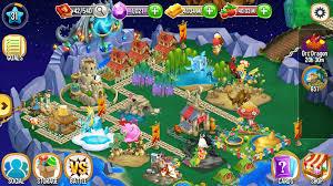 dragon city game screen shot for pc windows mac in www.techfizzi.com