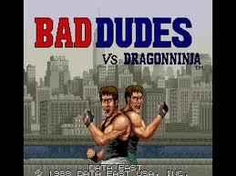 Bad Dudes VS Dragon Ninja logo Download And Run For Mobile PC Windows & MAC