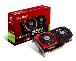 MSI-GAMING-GeForce-GTX-1050-for PUBG in www.techfizzi.comTi-4GB-GDRR5