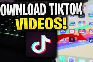 Download tiktok videos without watermark in MobileWinMAC ss
