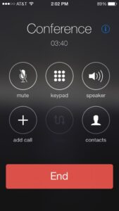 iphone conference call limit iphone 6,7,8,X And 11