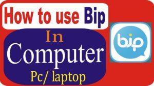 bip app for pcLaptop free download for windows 10,8,7 & MAC desktop