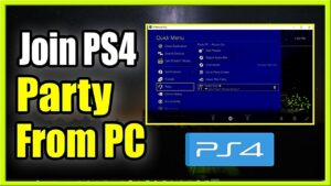 How To PlayStation Party Chat On PC Latest Method