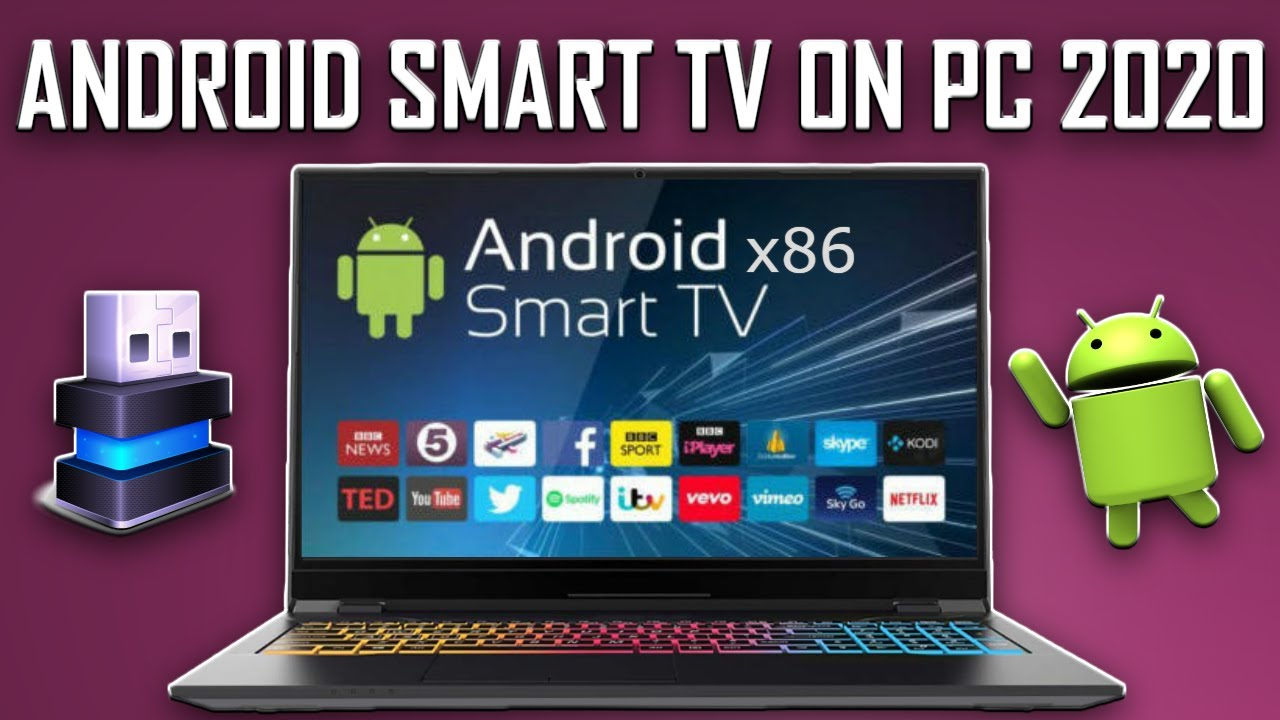Turn Laptop PC Into Android TV Box 3264 bit x86