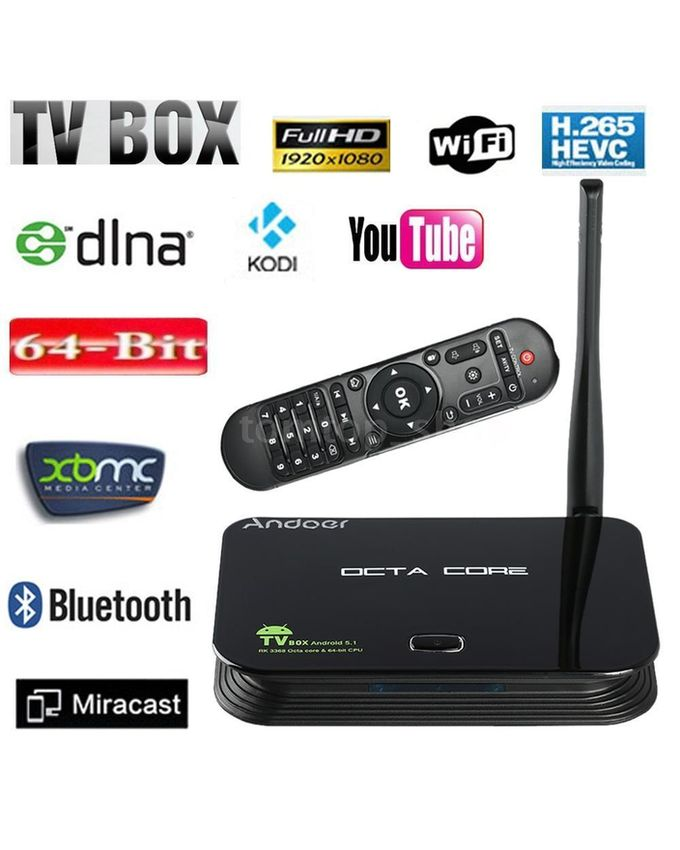 Android TV Box Octa Core 4GB, 6GB & 10 TV Features